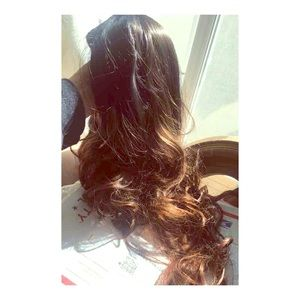 New, ombré 18 or 24 inch synthetic wig